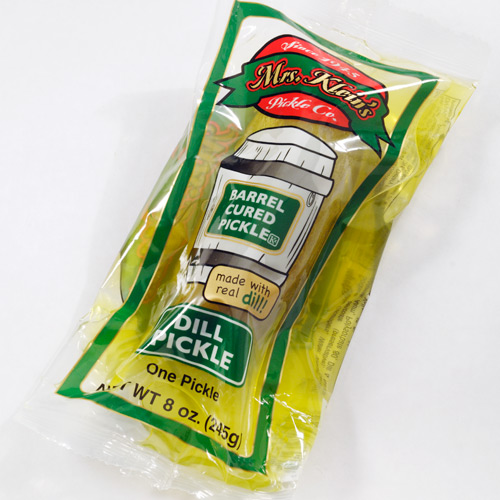 Single Serve Dill Pickle