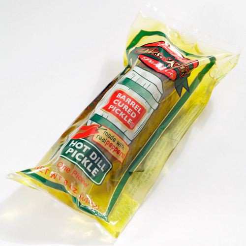 Single Serve Hot Dill Pickle