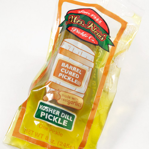 Single Serve Kosher Dill Pickle