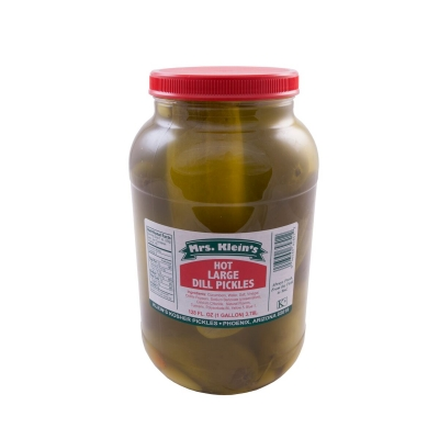Large Hot Dill Pickles