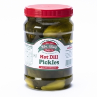 Hot Dill Pickles