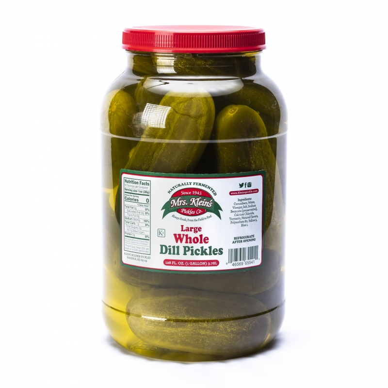 Large Dill Pickles